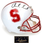 Panini Authentic Luck Stanford Helmet