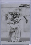 Score Printing Plate Clayborn Front