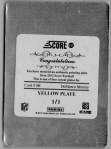 Score Printing Plate Murray Back