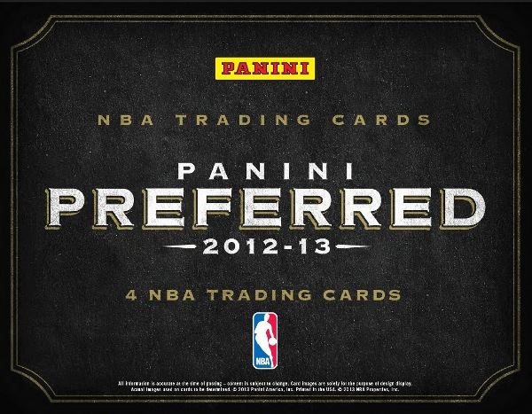 2012-13 Preferred Basketball Main