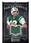 2012 Playbook Football Namath