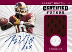 2012 Totally Certified Football RG III