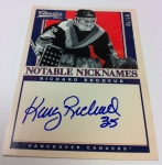 Panini America 2012-13 Classics Signatures Hockey QC 10