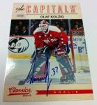 Panini America 2012-13 Classics Signatures Hockey QC 24