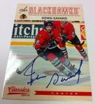 Panini America 2012-13 Classics Signatures Hockey QC 26