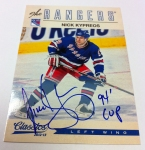 Panini America 2012-13 Classics Signatures Hockey QC 28