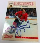 Panini America 2012-13 Classics Signatures Hockey QC 30