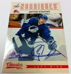 Panini America 2012-13 Classics Signatures Hockey QC 32