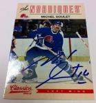 Panini America 2012-13 Classics Signatures Hockey QC 34