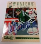 Panini America 2012-13 Classics Signatures Hockey QC 35