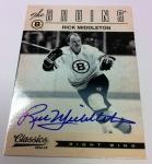 Panini America 2012-13 Classics Signatures Hockey QC 37