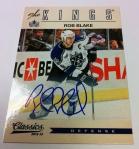 Panini America 2012-13 Classics Signatures Hockey QC 39