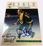 Panini America 2012-13 Classics Signatures Hockey QC 41