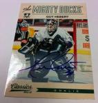 Panini America 2012-13 Classics Signatures Hockey QC 43