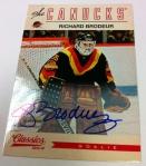 Panini America 2012-13 Classics Signatures Hockey QC 44