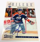 Panini America 2012-13 Classics Signatures Hockey QC 50