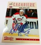 Panini America 2012-13 Classics Signatures Hockey QC 6