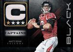 Panini America 2012 Black Football Captains 2