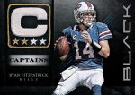 Panini America 2012 Black Football Captains 3