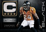 Panini America 2012 Black Football Captains 6