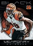 Panini America 2012 Black Football Weaponry 2