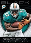 Panini America 2012 Black Football Weaponry 22