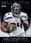 Panini America 2012 Black Football Weaponry 29