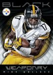 Panini America 2012 Black Football Weaponry 3