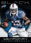 Panini America 2012 Black Football Weaponry 7