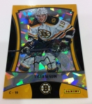 Panini America 2012 Black Friday Cracked Ice Base Auto 10