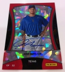 Panini America 2012 Black Friday Cracked Ice Base Auto 12
