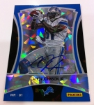 Panini America 2012 Black Friday Cracked Ice Base Auto 2