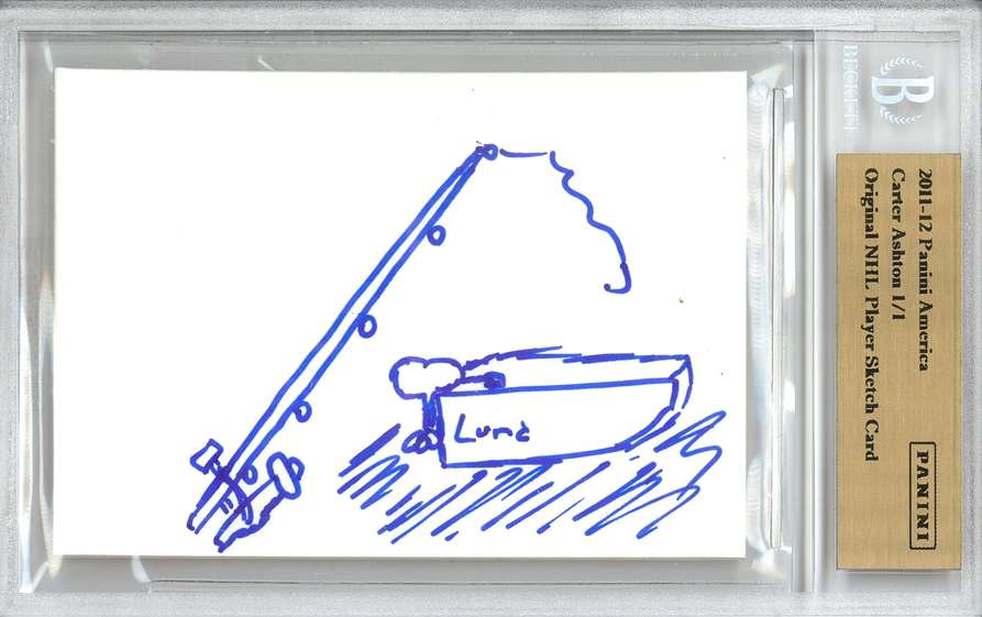 Panini America 2012 Fall Expo Carter Ashton Sketch 1a