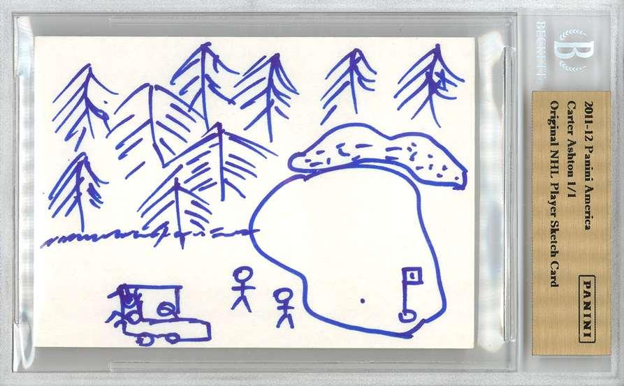 Panini America 2012 Fall Expo Carter Ashton Sketch 2a