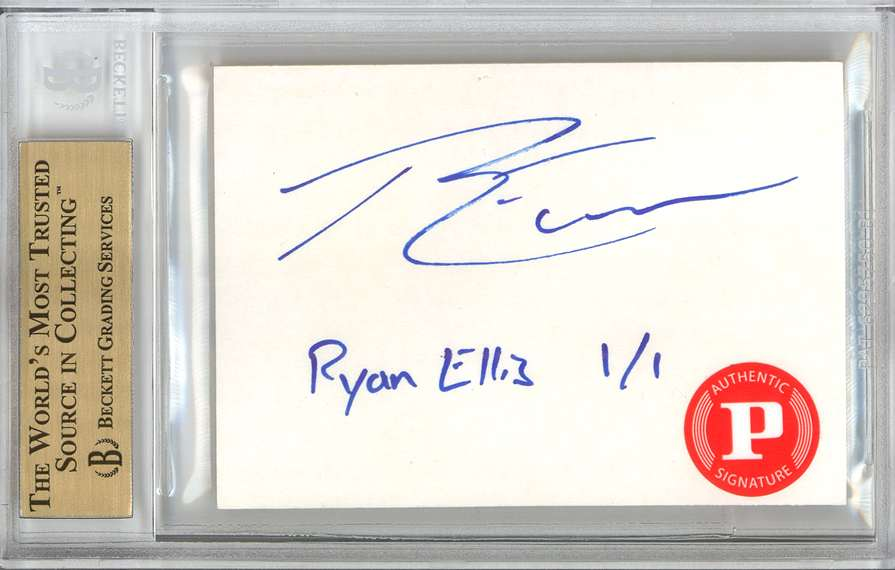 Panini America 2012 Fall Expo Ryan Ellis Sketch 1b