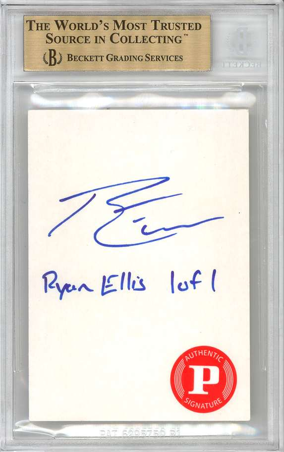 Panini America 2012 Fall Expo Ryan Ellis Sketch 2b