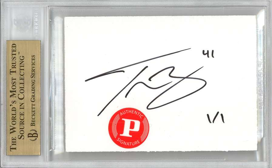 Panini America 2012 Fall Expo Tyson Barrie Sketch 1b