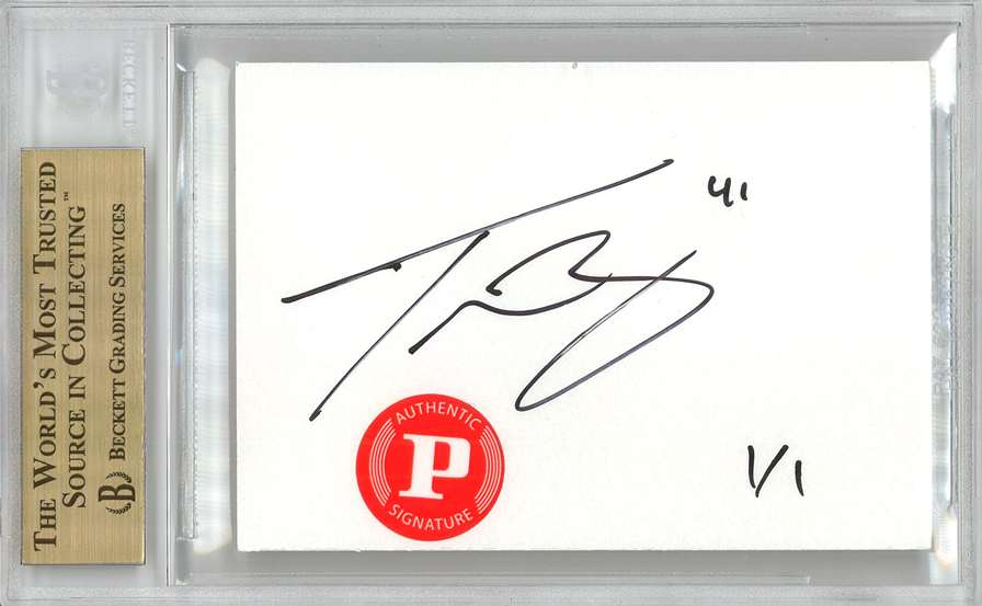 Panini America 2012 Fall Expo Tyson Barrie Sketch 2b
