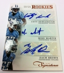 Panini America 2012 Prime Signatures Football QC 10