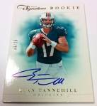 Panini America 2012 Prime Signatures Football QC 11