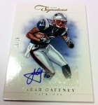 Panini America 2012 Prime Signatures Football QC 12