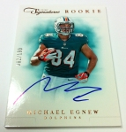 Panini America 2012 Prime Signatures Football QC 14