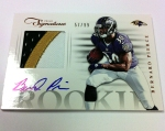 Panini America 2012 Prime Signatures Football QC 16