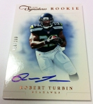 Panini America 2012 Prime Signatures Football QC 17