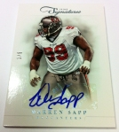 Panini America 2012 Prime Signatures Football QC 18