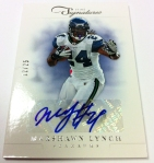 Panini America 2012 Prime Signatures Football QC 20