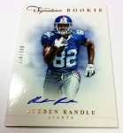 Panini America 2012 Prime Signatures Football QC 22