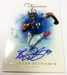 Panini America 2012 Prime Signatures Football QC 23