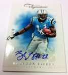 Panini America 2012 Prime Signatures Football QC 25