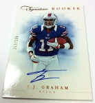 Panini America 2012 Prime Signatures Football QC 28